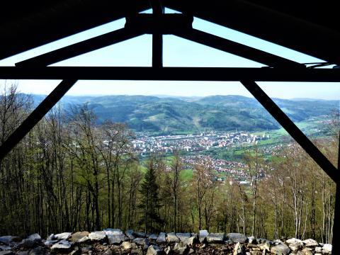 Výhľad y vrcholu Vretňa